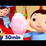 Fun Fair Song! +More Nursery Rhymes and Kids Songs – ABCs and 123s | Learn with Little Baby Bum