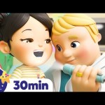 Going to The Doctor's Song! +More Nursery Rhymes – ABCs and 123s & Songs For Kids! Little Baby Bum