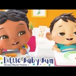 How to Eat Vegetable Song +More Nursery Rhymes and Kids Songs – ABCs and 123s | Little Baby Bum