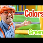 Learn with Blippi at Amy's Playground | Educational Videos For Toddlers with Blippi
