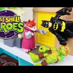 Ninja Turtles teach Batman How To Fight Crime With Imaginext Toys Kids Toys
