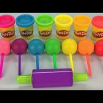Play Dough Lollipops and Animal Molds