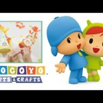 Pocoyo Arts & Crafts: Pocoyo and Nina's Birthday Hats