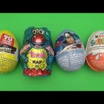 Surprise Eggs Learn Speed from Fastest to Slowest! Disney Mickey Mouse Avengers Kinder Surprise!