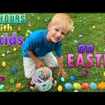 24 Hours With 6 Kids On Easter