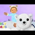 Baby Jake – Riding on a Polar Bear | Full Episodes | Yacki Yacki Yoggi | Cartoons for Kids