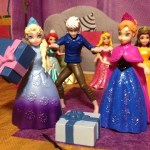 FROZEN Elsa Surprise Birthday Party from Jack Frost Video Parody