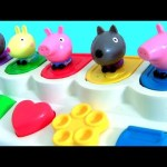 Mashems Peppa Pig Series 2 Pop-up TOYS SURPRISE with Mickey