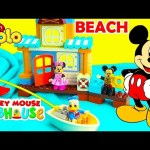 Mickey Mouse Clubhouse Friends and Minnie Mouse Lego Duplo Beach House Fun