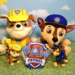 Paw Patrol Rubble and Chase Animals Toy Unboxing