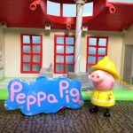 Peppa Pig Fire Station Playset Toy