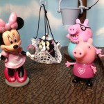 Peppa Pig  Saves Minnie Mouse Kitty Figaro in a Toy Parody