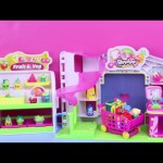 Shopkins Small Mart Grocery Store Shopping Parody by DisneyCarToys Kids Toys