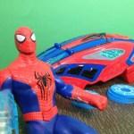 SPIDERMAN Marvel The Amazing Spider Man 2 Web Blaster a Spiderman Movie Toy