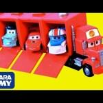 Vamos construir el Camión Mack con Rayo McQueen Disney Cars Toon Los Cuentos de Mate en Español