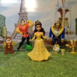 BELLE & BEAUTY AND THE BEAST Story Collection  Princess Toy Dolls
