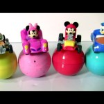 Disney Baby Mickey and the Roadster Racers Car Toys Surprise Eggs by Funtoys