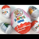 Kids Toys Kinder Chocolate Eggs Surprise Toys Finding Dory The Good Dinosaur Zootopia Frozen Barbie