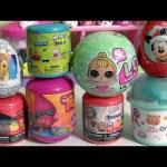 Num Noms 4.1, LOL Surprise Color Changers Dolls, Mashems SpongeBob, Bambi, Cars3 Mashems by Funtoys