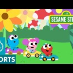 Sesame Street: Giant Race Track | Magical Car Races