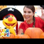 5 Little Pumpkins | Sing Along With Tobee