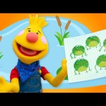 Five Little Speckled Frogs | Sing Along With Tobee
