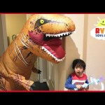 Giant Life Size Dinosaur Pretend Play Hide and Seek