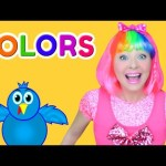 Learn Colors with Surprise Hair Colors   Color Song for Kids, Baby and Toddlers at Beauty Salon