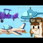 Let's Fly! | Helicopter and Airplanes at Finley's Factory | Cartoon For Kids