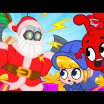 Oh No! SANTA IS A ROBOT! My Magic Pet Morphle | Christmas Cartoons For Kids | Morphle TV | BRAND NEW