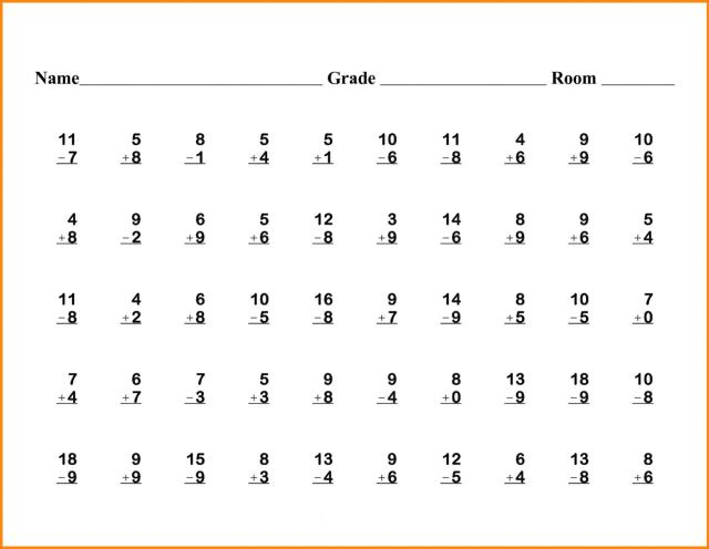 6th Grade Math Worksheets Fractions