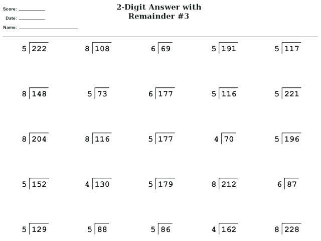 Multiplication Worksheets Grade 5 2
