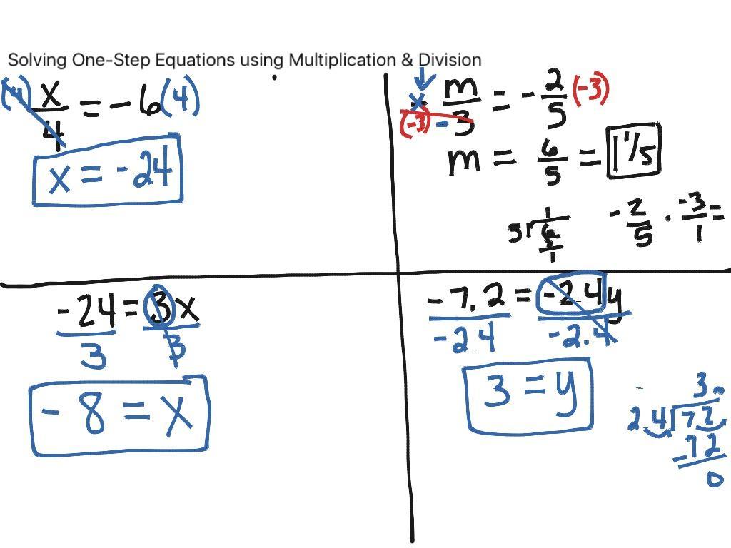 Multiplication Equations Worksheet Pdf