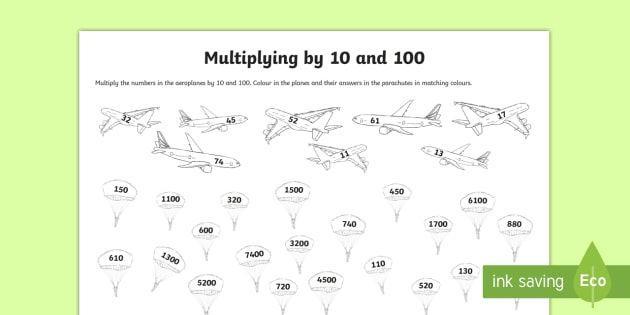 Multiplication Hundredths Worksheet 5