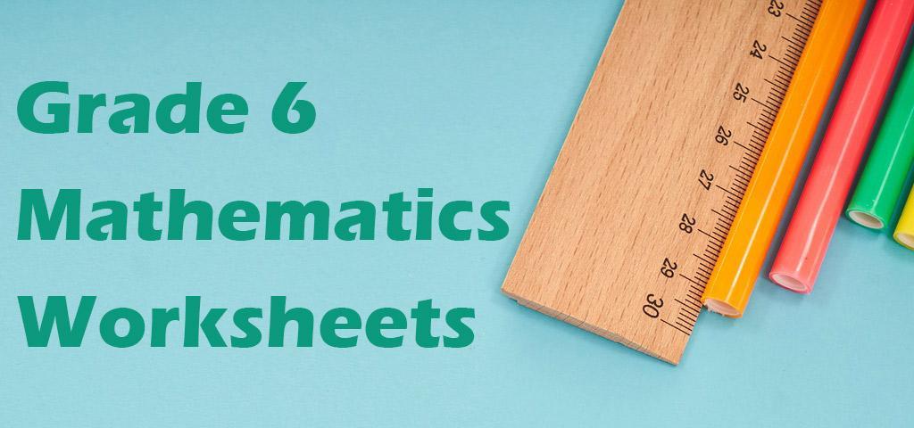 Multiplication Worksheets For Grade 6 Pdf