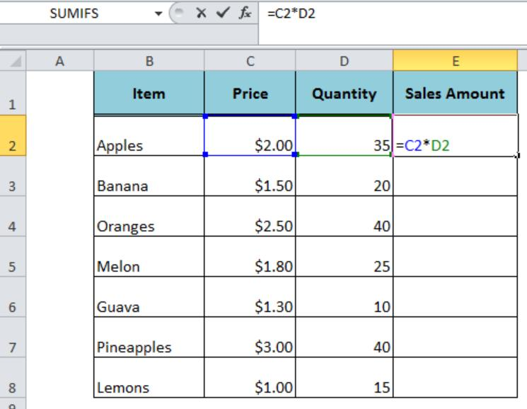 Multiplication Worksheets In Excel 5