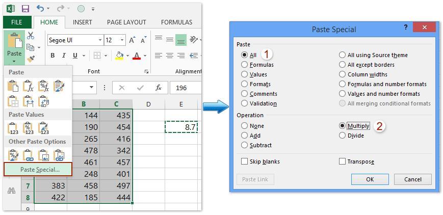 Multiplication Worksheets In Excel 6