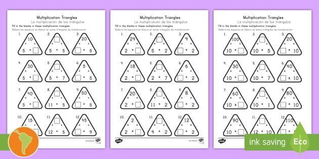 Multiplication Worksheets In Spanish 7