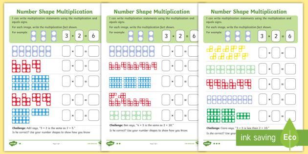 Multiplication Worksheets Ks1 1