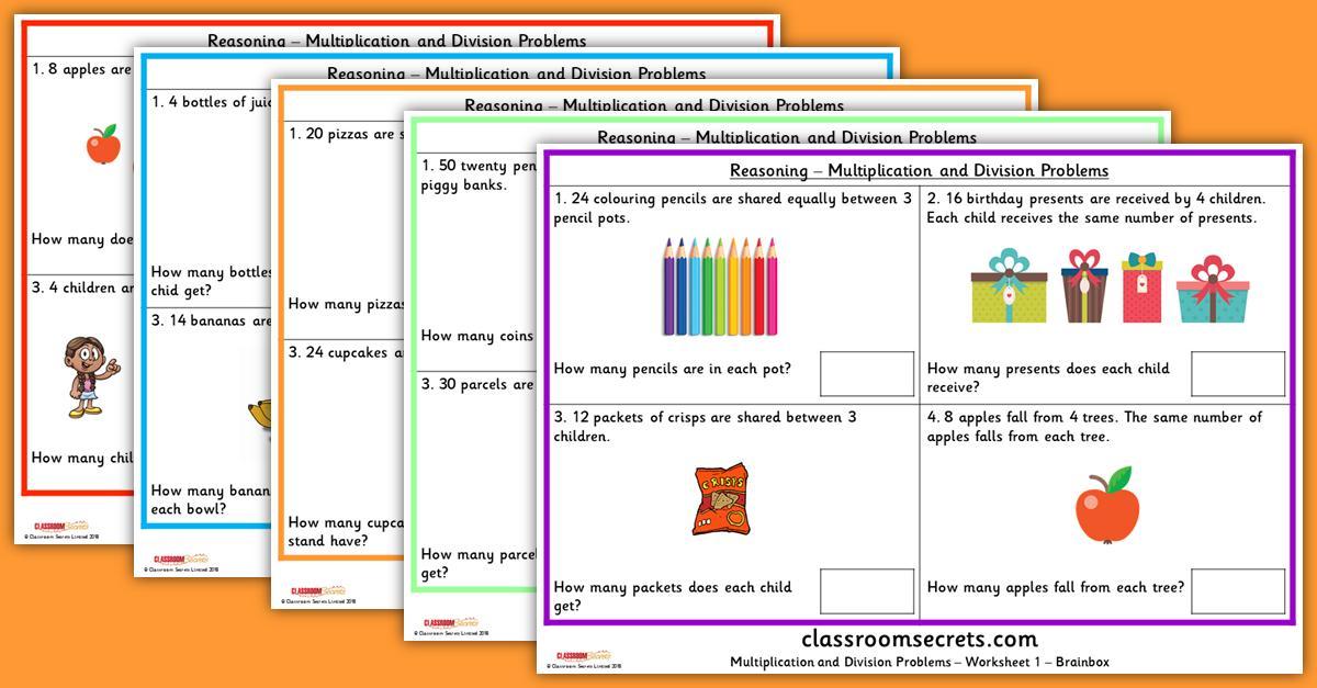 Multiplication Worksheets Ks2