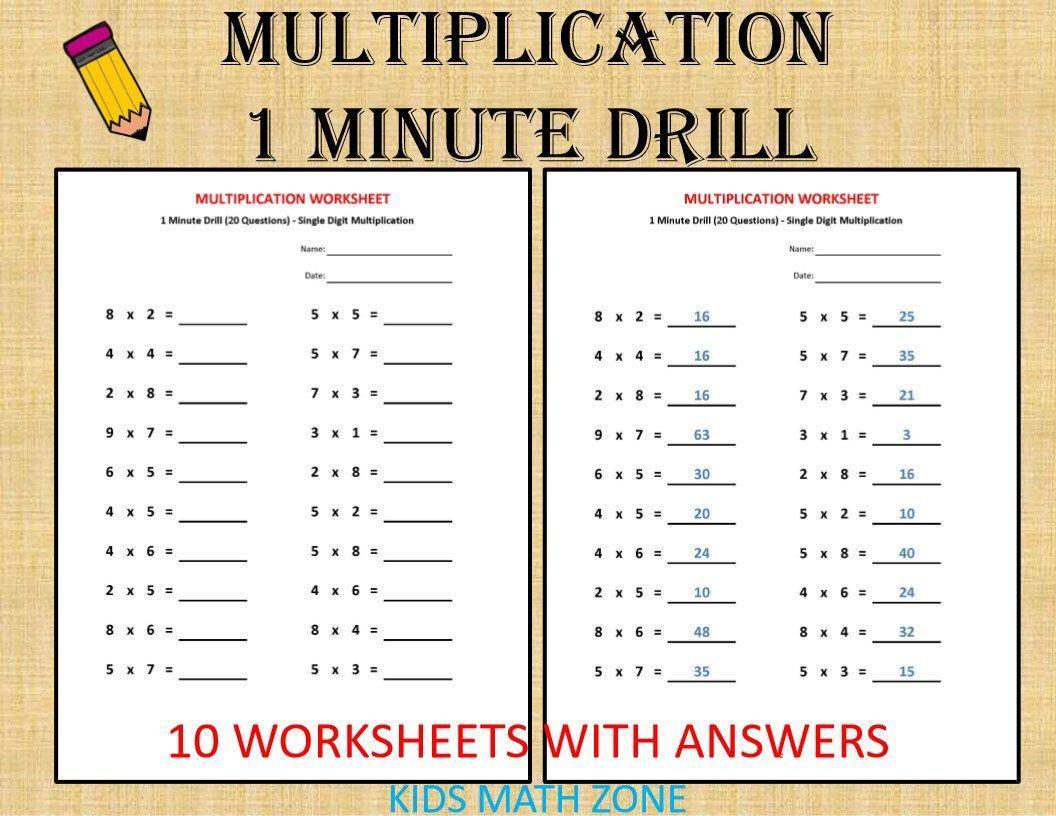 Multiplying Polynomials Worksheet Elementary Algebra Skill