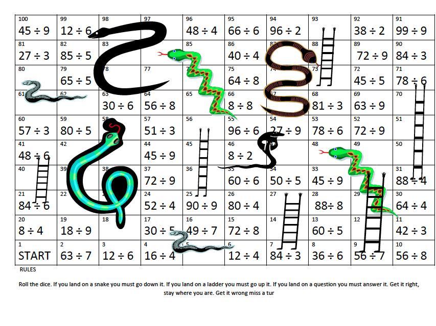 Multiplication Ladder Method Worksheet