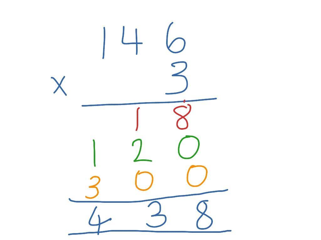 Multiplication Ladder Worksheets 1