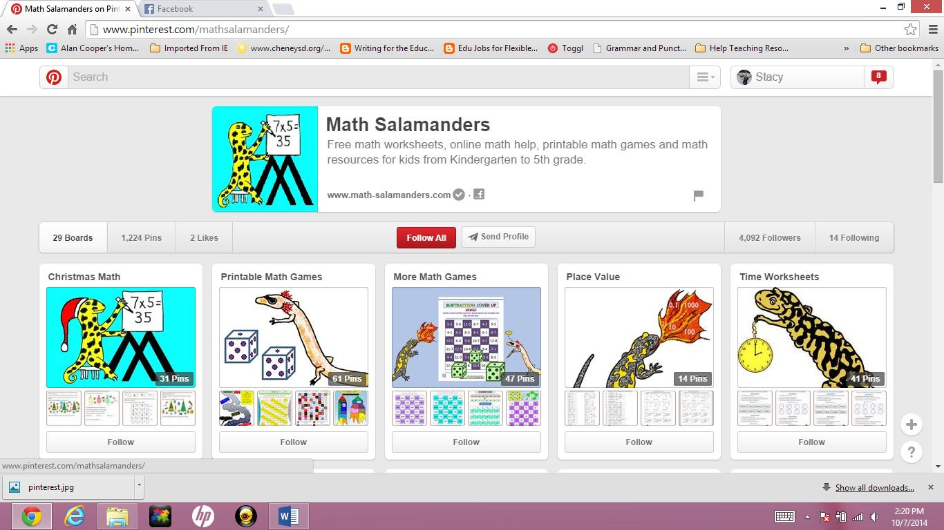 Multiplication Worksheets Math Salamanders 4