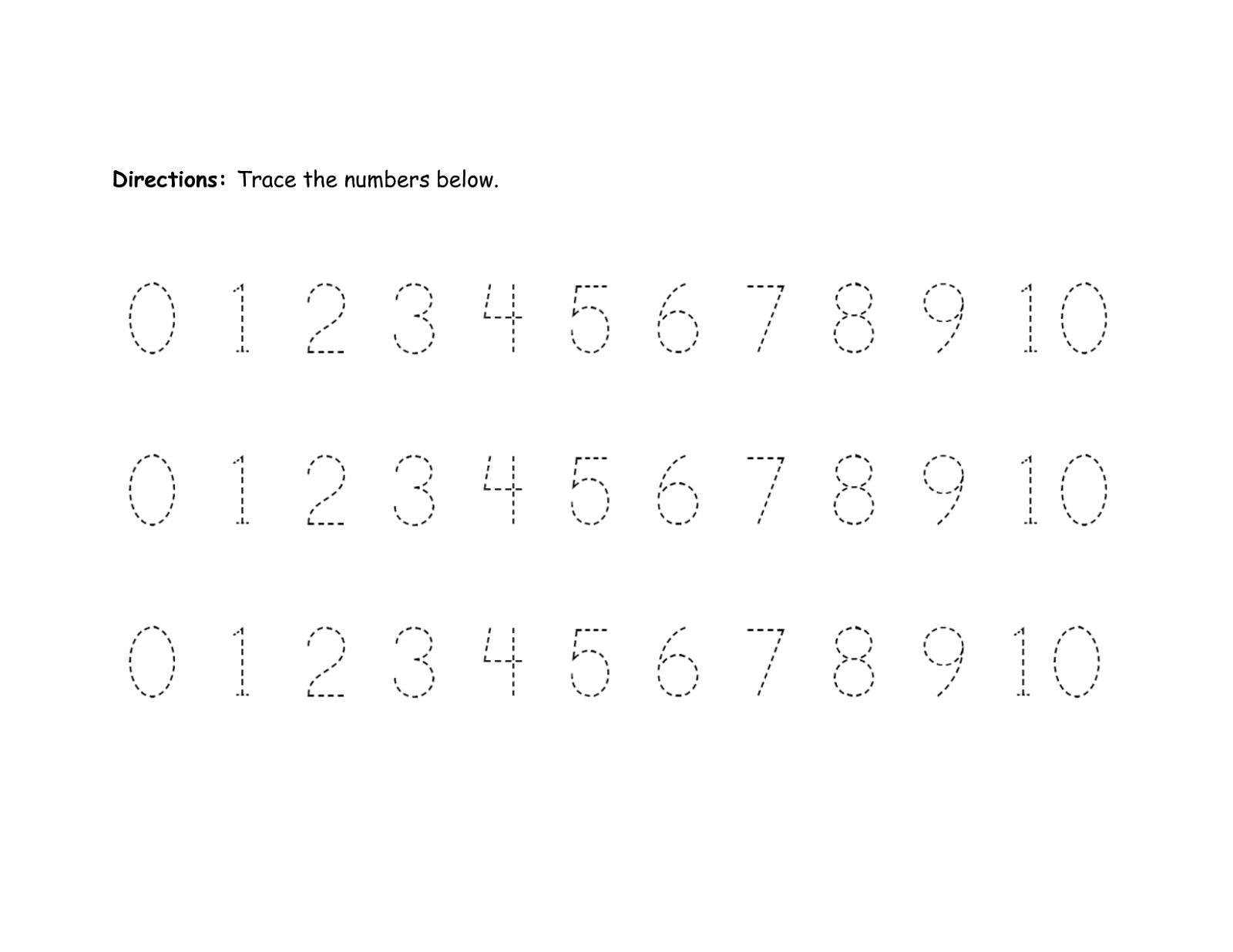 Multiplication Worksheets Numbers 1-10 4
