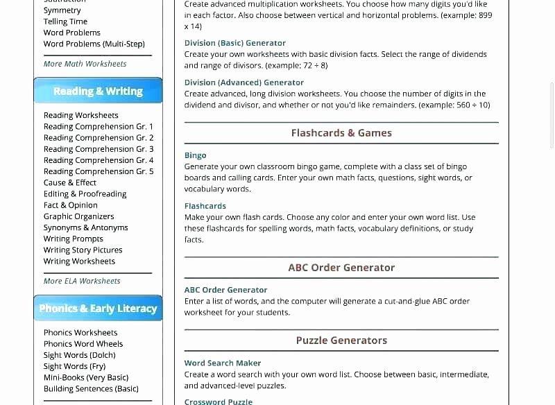 Multiplication Worksheets Random 2