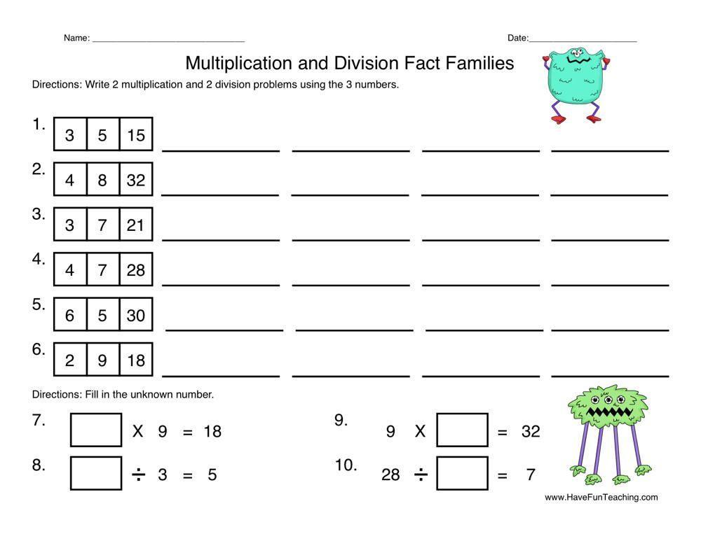Multiplication Worksheets Random Order 6