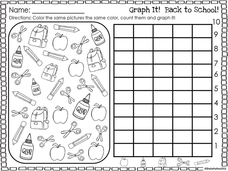 Free Back To School Preschool Worksheets