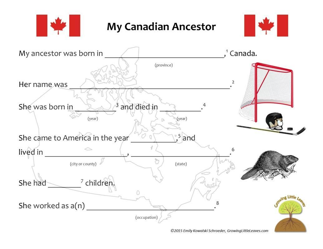 Free Preschool Worksheets Canada