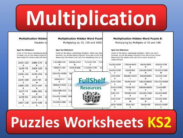 Multiplication Worksheets Grade 5 With Answers